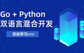 Go+Python 双语言混合开发 【慕课网盘下载】