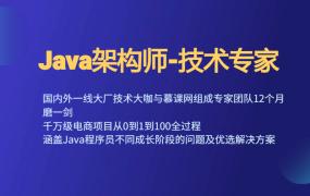Java架构师-技术专家
